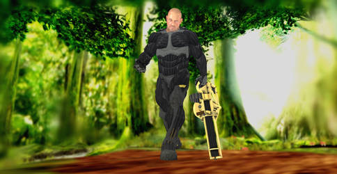 CRYSIS 3 MICHAEL PSYCHO SYKES WITH NANOSUIT by lawlaw91