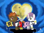 Button Belle Kingdom Hearts
