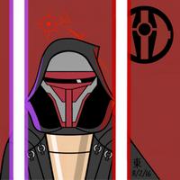 Dark Side Square Series - Darth Revan