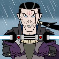 Dark Side Square Series - Exar Kun