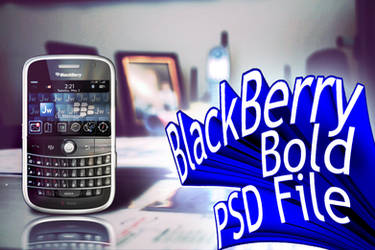 Blackberry Bold Finished by Justflikwalk