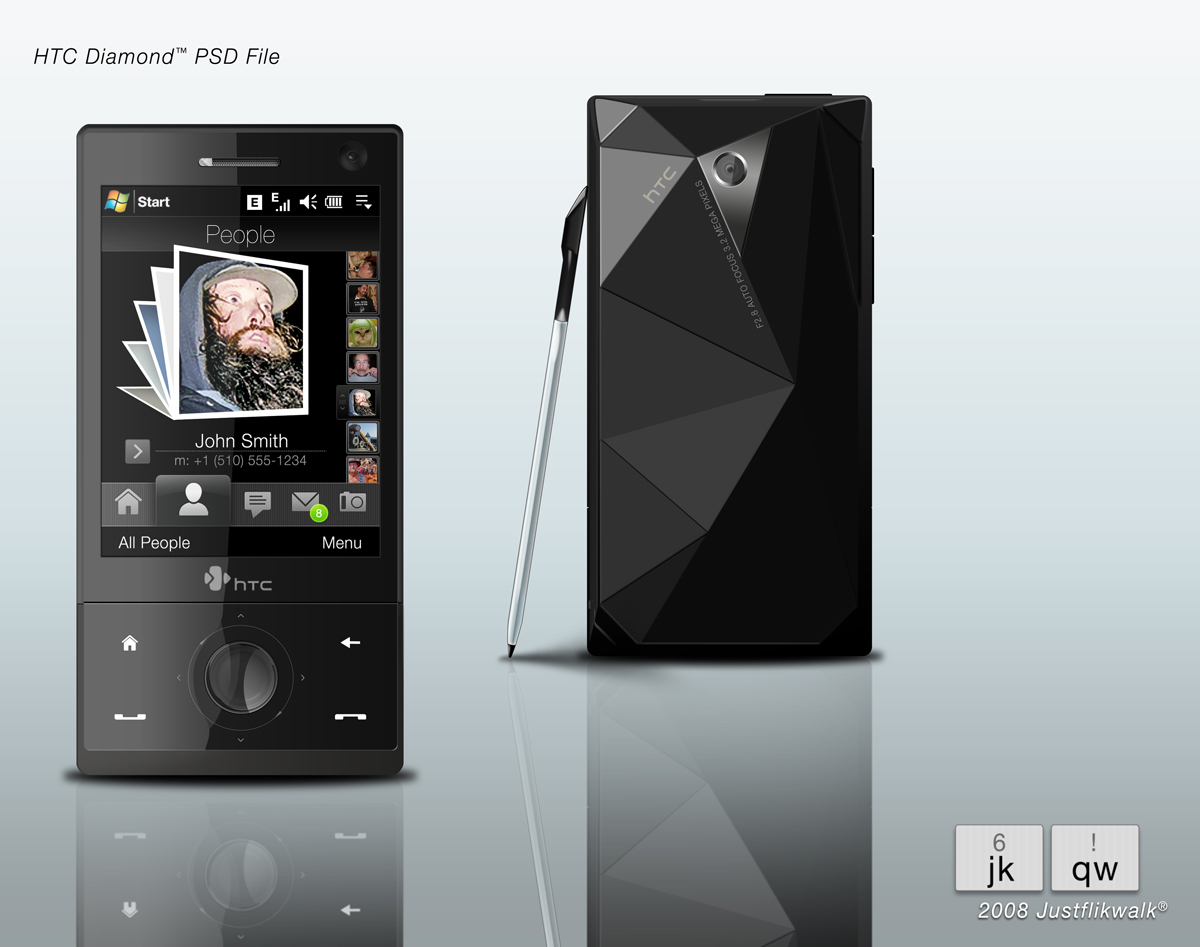 HTC Diamond by Justflikwalk