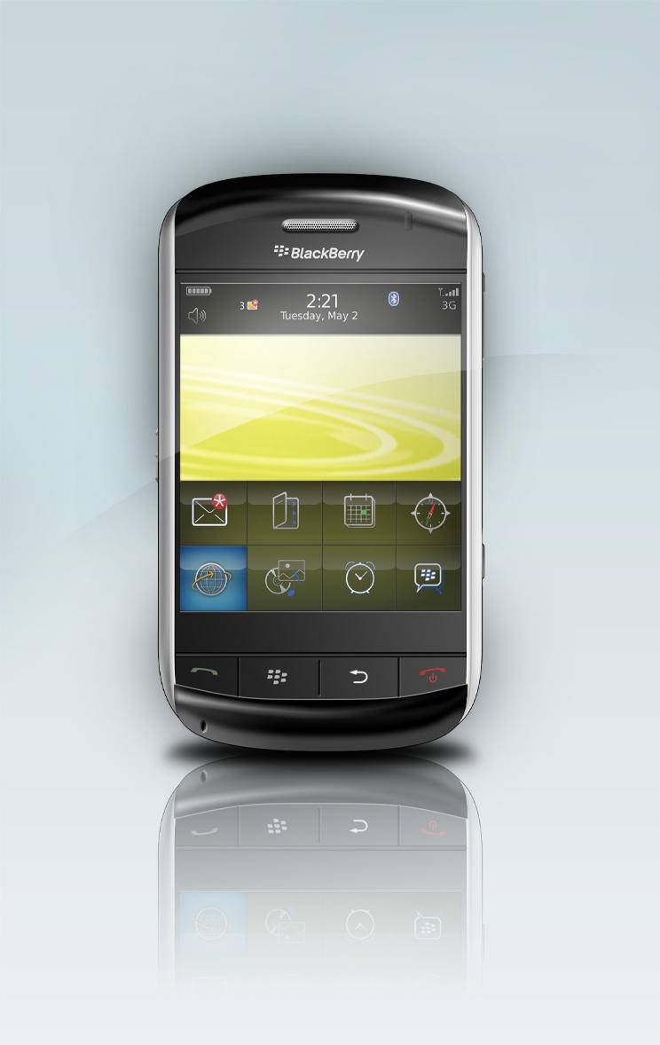 BlackBerry Storm by Justflikwalk