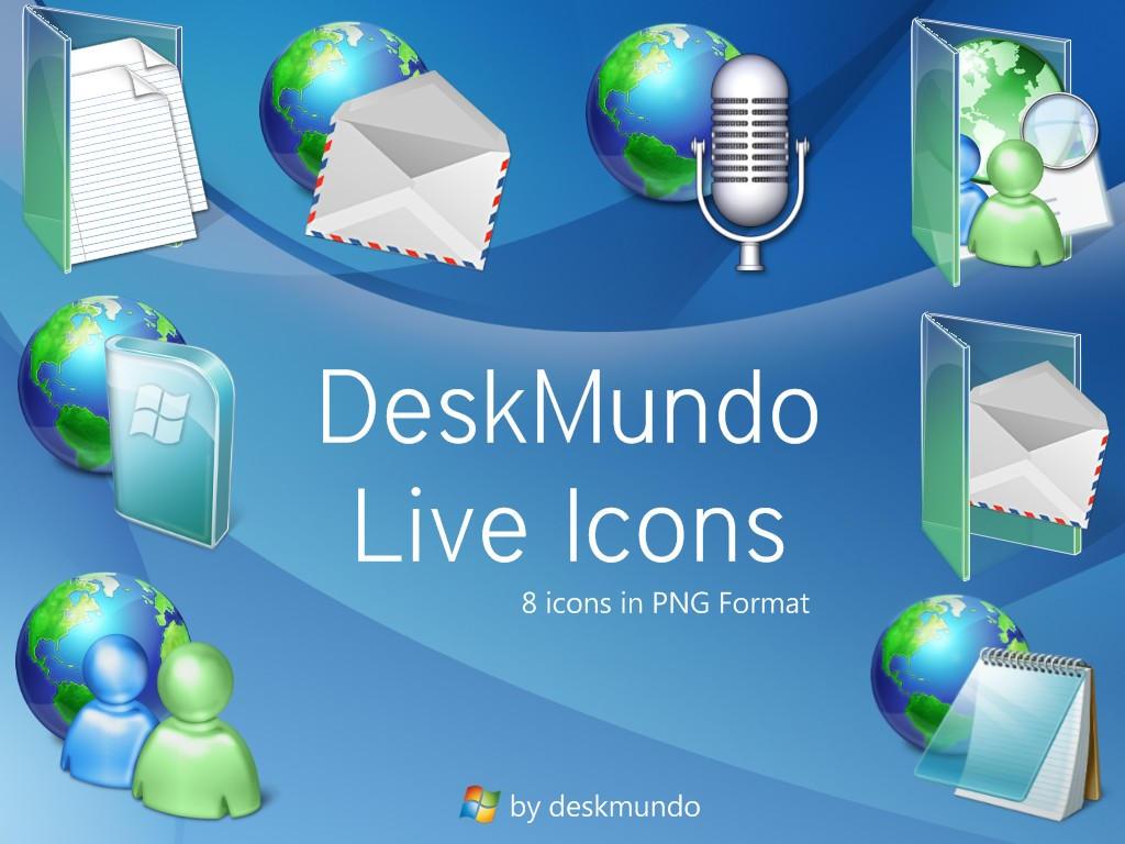 DeskMundo Live Icons by deskmundo
