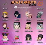 Ninja Naruto Icons