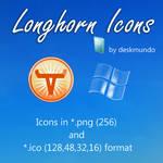 Longhorn Logos Icons