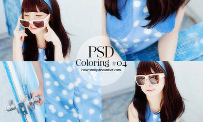PSD Coloring #04 - Skyblue