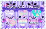Pastel Goth Patterns PS - LunaOfColors