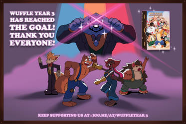 WUFFLE YEAR 3 CAMPAIGN IS NOW SUCCEED!