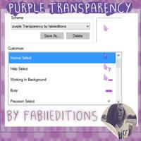 Cursor Purple Transparency