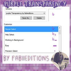 Cursor Purple Transparency by fabii27
