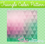 Triangle Color Pattern