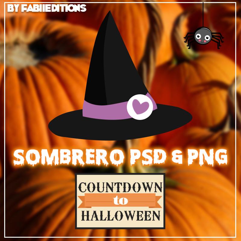 Sombrero Png y PSD. by fabii27