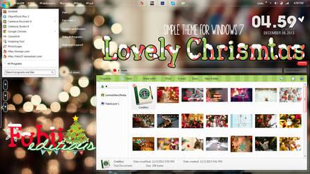 Lovely Christmas {Tema de windows 7}