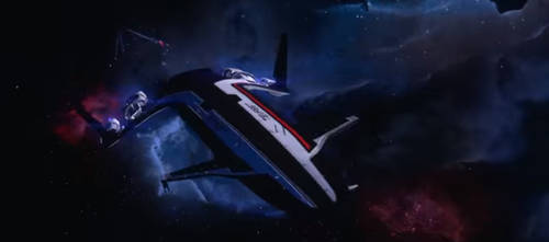 Mass Effect: Andromeda- SSV Tempest by TheWonderingSword