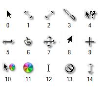 mac os x cursor for windows 7