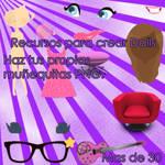 Recursos para crear dolls PNG
