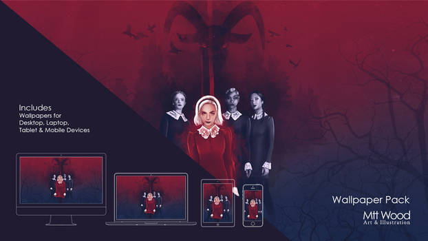 Sabrina The Witches Are Coming Wallpaper Pack