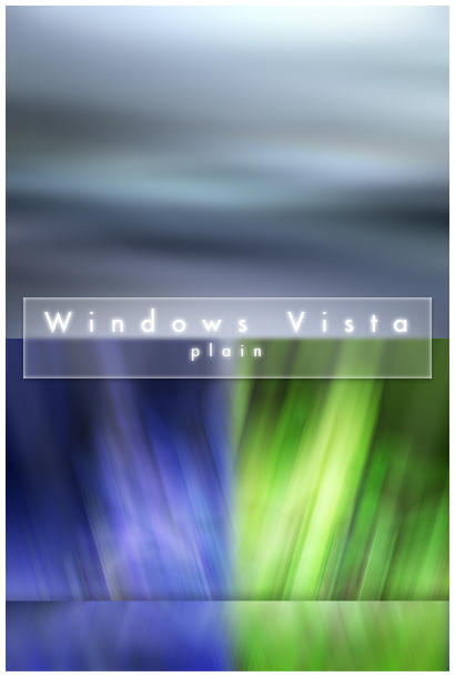 Windows Vista v1 Plain by deelo