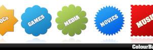 Colour Badges