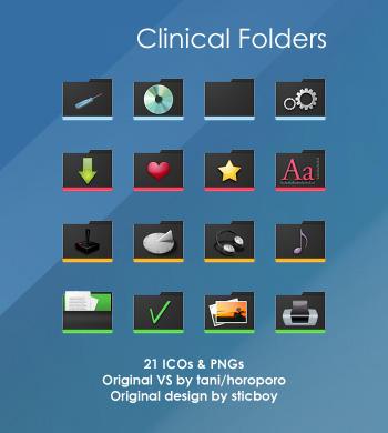 Clinical Folders by deelo