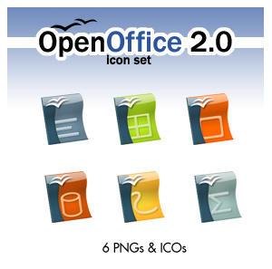 OpenOffice 2.0 Icon Set by deelo