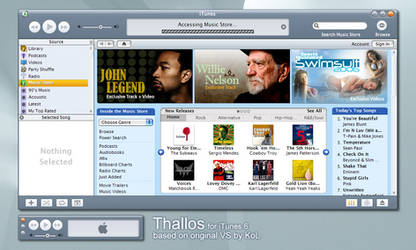Thallos for iTunes 6