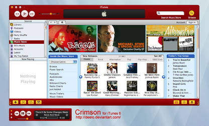 Crimson for iTunes 6