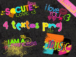 Textos Png By Isfe