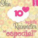 Skin Para Rainmeter 'Especial'