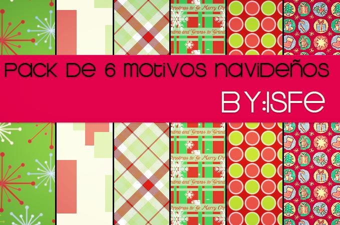 6 motivos de navidad by isfe by Isfe