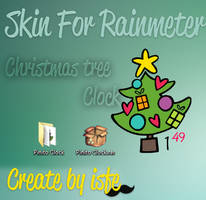 Skin For Rainmeter Chistmas tree by isfe