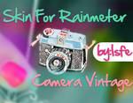 Skin For Rainmeter Camera Vintage