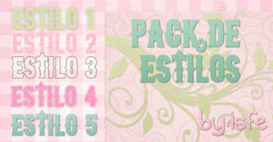 Estilos Pack 5 By isfe