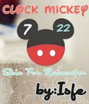 Clock Mickey Skin For Raimeter
