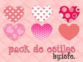 Estilos Love by isfe by Isfe