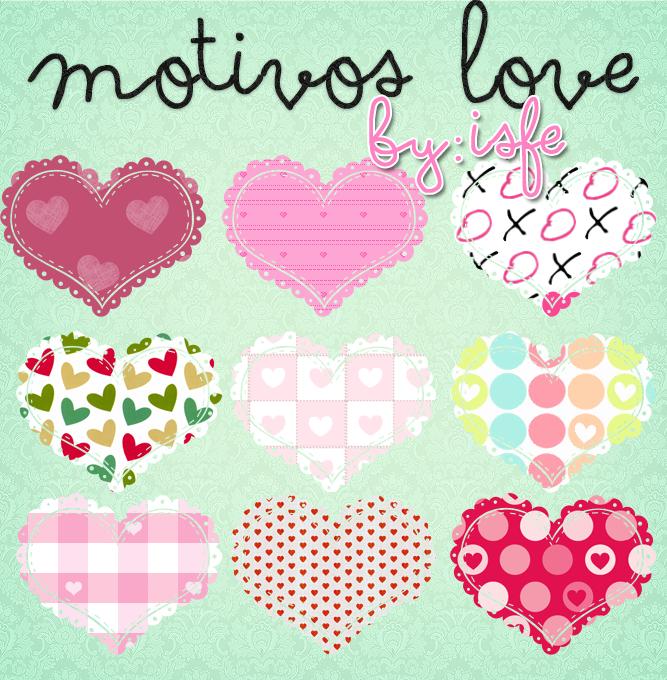 Motivos Love by isfe