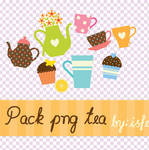 Pack png Tea By isfe