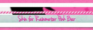Skin For Rainmeter PinkBar