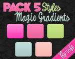 Styles For Photoshop Magic Gradients