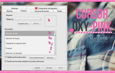 Cursor Oxy Pink by isfe by Isfe