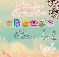 Skin for Rainmeter Glass Dock