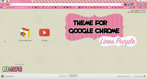 Theme For Google Chrome Puple Lines
