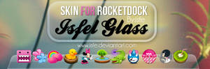 Skin for rocketdock IsfelGlass