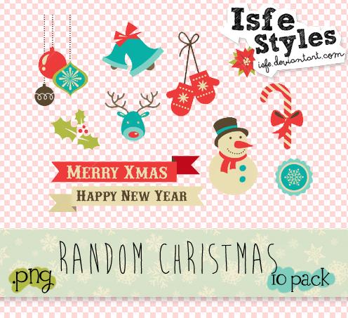 Random Christmas by Isfe