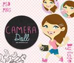 Camera Doll (.PSD)