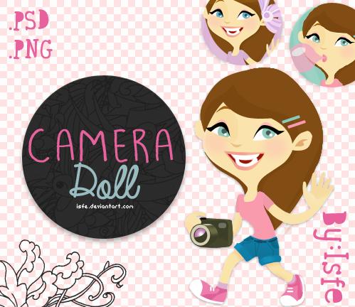 Camera Doll (.PSD) by Isfe
