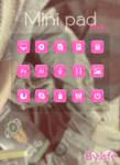 Skin for xwidget Minipad Pink