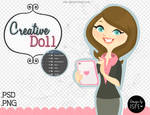 Creative Doll (.PSD /.PNG)