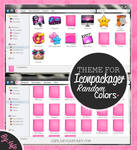 Theme for iconpackager- Random colors